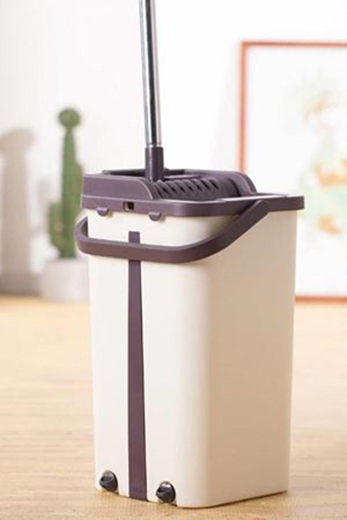 Tablet Mop Temizlik Seti Spin Mop 6+6 Lt Ve Mop Temizleme Aparatı Hediyeli