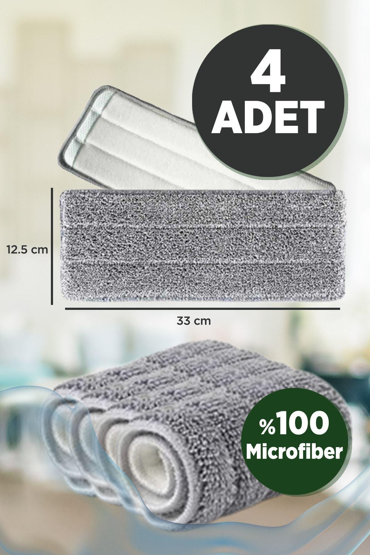 Kitchen Trend Molto 4 Lü Mikrofiber Yedek Bez