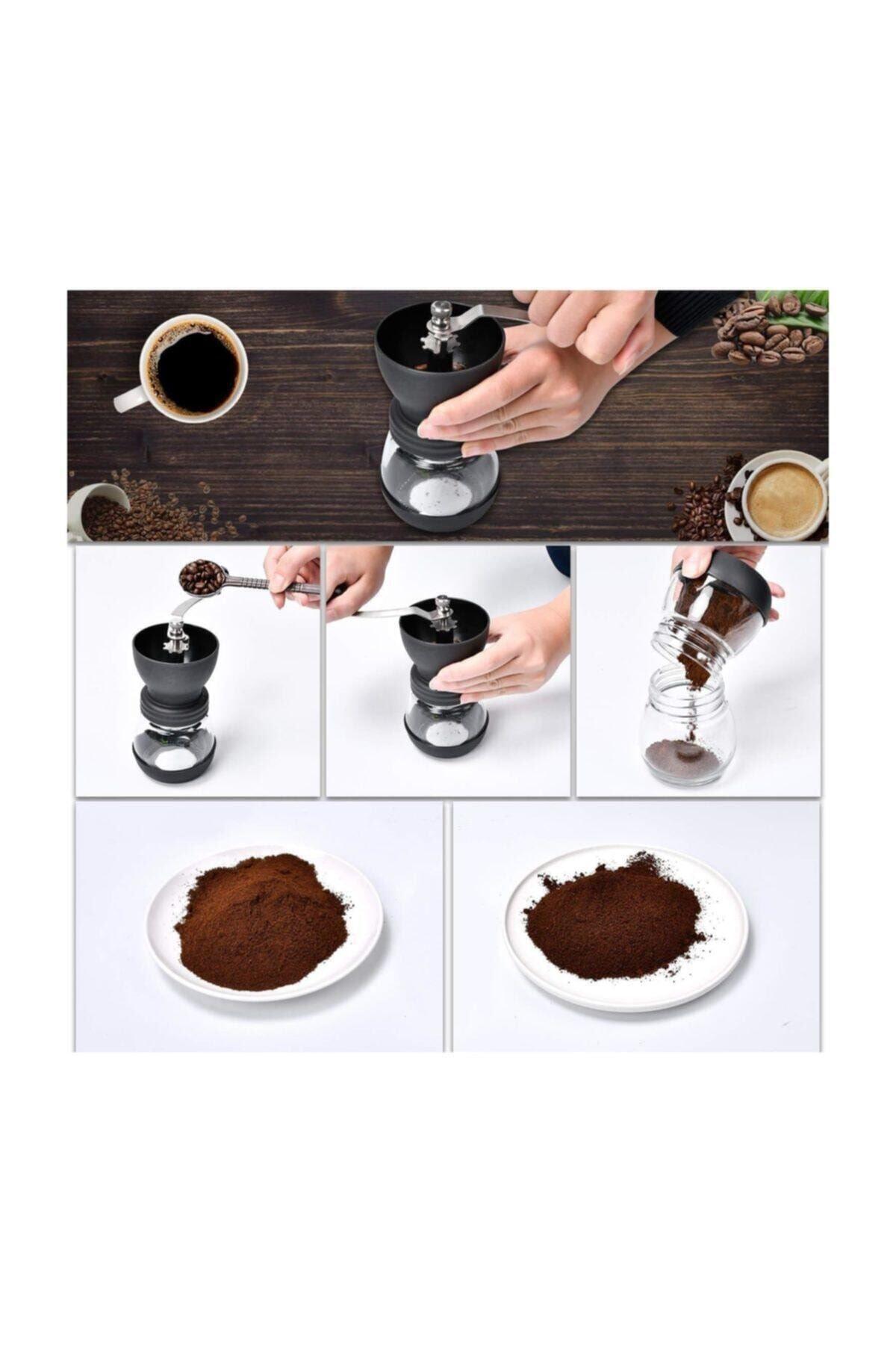 Kitchen Trend Cam Seramik Öğütücülü Kahve Değirmeni