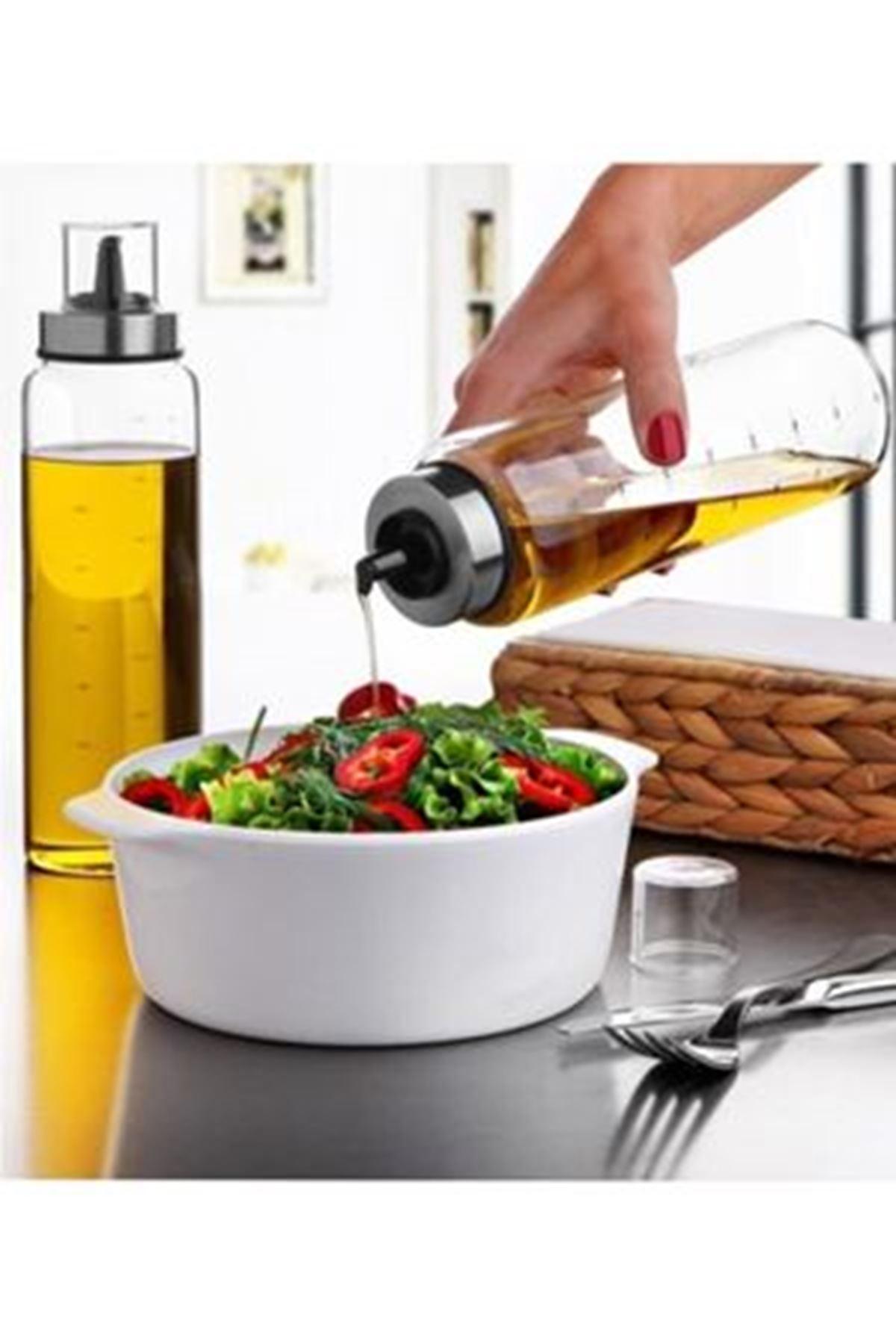 Kitchen Trend 750 Ml Tekli Borosilikat Damlatmaz Yağlık Yağdanlık
